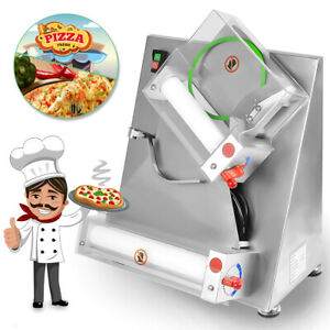 12 Inch Automatic Pizza Bread Dough Roller Sheeter Machine Paste Pressing Shape