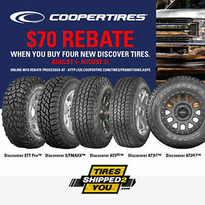 4 New Cooper Discoverer A T3 Xlt All Terrain Tires Lt295 75r16 Lre 10ply Rated