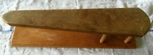 Vintage Antique Rustic Wood Ironing Sleeve Board 21 22 Original Cover
