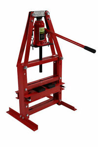 12 Ton A Frame Shop Press With Press Plates Benchtop Hydraulic Jack Lift Hoist