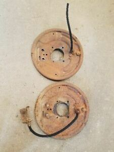 1960 Dodge D200 Pickup Front Backing Plates
