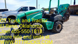 2013 Ditch Witch Rt55 Rock Saw Riding Trencher 921hrs 60hp 6 Way Blade Used