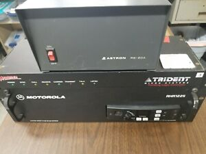 Motorola Rkr1225 Uhf 45w Rack Mount Repeater W Trident Trunking Controller