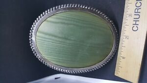 Vintage Sterling Silver Oval Picture Frame 4 X 3