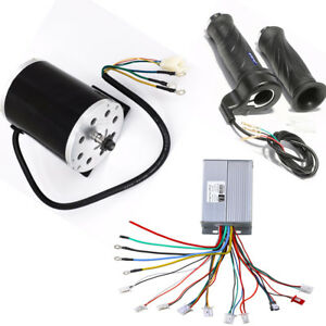 48v 1800w Speed Controller Brushless motor Throttle Gripsscooter Atv Bike Kart