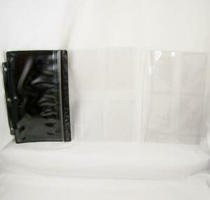 Business Card Pages Zip Pocket Inserts Lot 8 5 X 5 5 For 3 Ring Desk Planner