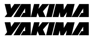 Yakima Decal Vinyl Sticker buy 1 Get 2 Free Shipping