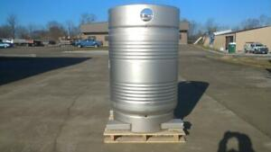 Stainless Steel 1363 Liter 360 Gallon Vertical Low Pressure Tank Forklift able