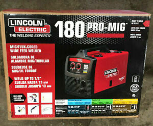 Nib Lincoln Electric Pro Mig 180 Wire Feed Welder K2481 1 New