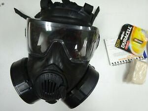 Pre Owned Avon Fm50 Chemical biological Respirator us Military Nbc Gas Mask
