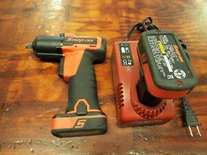 Snap On Ct761ao Microlithium Cordless Impact Wrench 3 8 Inch 2019353