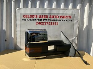 2007 2013 Chevy Silverado 2500 Hd Right Towing Mirror Oem