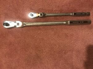 Craftsman 3 8 And 1 2 Flex Head Ratchet Wrench 44816 And 44815 New