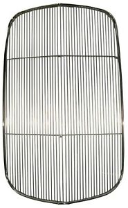 1932 Ford Grille Insert Polished Stainless Steel Without Crank Hole