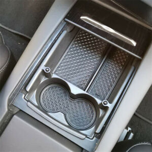Abs Car Center Console Organizer Tray Cup Drink Holder For Tesla Model S X 16 18