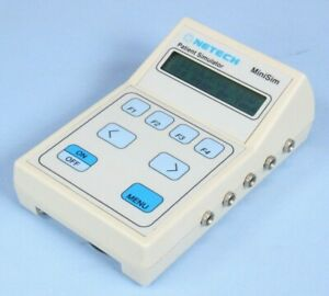 Netech Minisim Patient Simulator Tested With Warranty Biomed Monitor Simulator