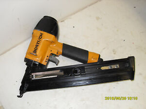 Bostitch N59fn Angled Finish Nailer Works Great