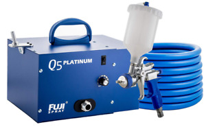 Fuji 2895 T75g Q5 Platinum Quiet Hvlp Spray System
