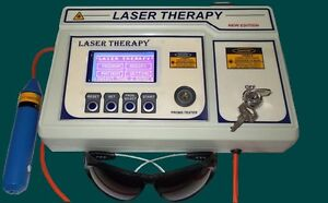 Prof chiropractic Computrised Low Level Laser Cold Laser Therapy Machine