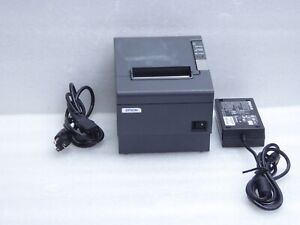 Epson Tm t88iv Business Thermal Printer M129h With Epson Power Supply