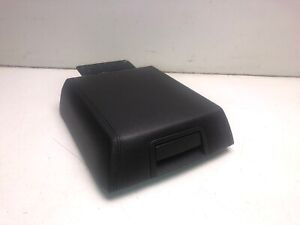 2007 2014 Ford Expedition Center Console Armrest Lid Cover Black Oem R4444