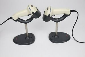 Lot 2 Honeywell Xenon 1900 Barcode Scanner With Stands