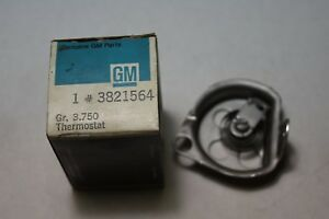 3821564 Nos Gm Carburetor Choke Thermostat Cover 1963 1968 Chevrolet