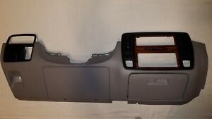 94 96 Chevy Caprice Impala Ss Lower Dash Trim Bezel Radio Heater Control Gray
