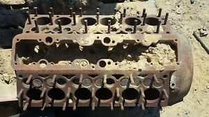 Oem Lincoln V 12 Engine Block Core Sr