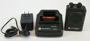 Motorola Minitor V 462 469 9875 Mhz 2 Channel Fire Ems Pager