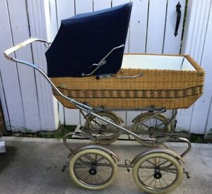 Vintage 1970 S Prego Baby Carriage