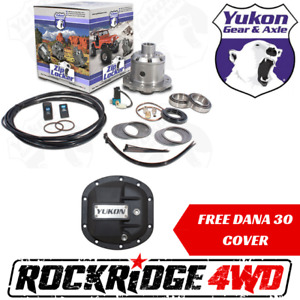 Yukon Zip Air Locker Dana 30 W 27 Spl Jeep Jk Xj Yj Tj Zj 3 73 Up Free Cover