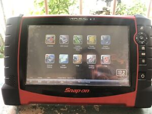 Snap On Verus Pro D10 Scan Tool With Accessories And European 17 2 Software
