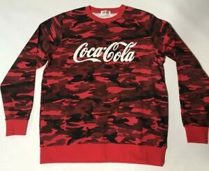 Coca Cola Camo Sweater Size 4XL Urban Fractal Camo Limited Edition