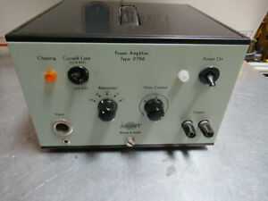 Bruel Kjaer 2706 Power Amplifier For Accelerometer Calibration As Pictured