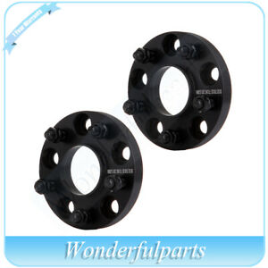 2x 20mm Hubcentric Wheel Spacers 5x4 75 5x120 7 For 1985 2016 Chevrolet Corvette