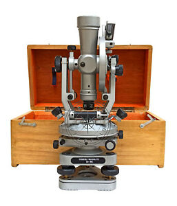 Brass Theodolite 15 Surveyors Transit Alidade construction Surveying Instrument