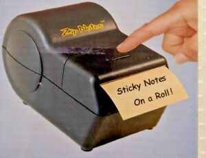 New Zip Notes Administrator Sticky Notes On A Roll Battery Powered Dispenser