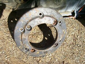 Vintage Oliver 88 Diesel Row Crop Tractor rear Wheel Weight T 9648
