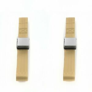 Ford Thunderbird 1967 1976 Airplane 2pt Tan Lap Bucket Seat Belt Kit 2 Belts