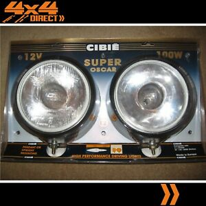 Cibie Super Oscar Factory Fitted 55w Hid Driving Spot Lights