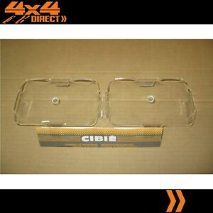 Cibie Type 35 Airport Clear Covers Driving Spot Light Covers