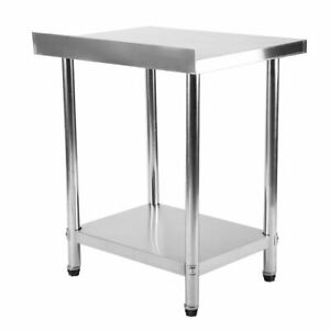 24 x30 Stainless Steel Kitchen Work Table Commercial Kitchen Restaurant Table