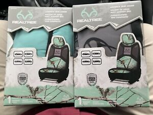 Set Of Two Realtree Seat Covers Tiffany Camo