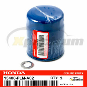1pc Genuine Honda Acura Oem Engine Oil Filters W Drain Washers 15400 Plm A02