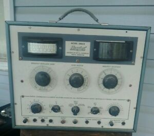 Hickok Model 288ax Universal Crystal Controlles Signal Generator
