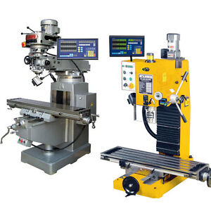 Dro 3 Axis Digital Readout Milling Lathe With Linear Encoder Scales Free Ship