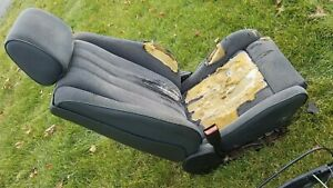Bmw E30 Coupe Cloth Front Sport Seats M3 325is 318is 325es Passenger Driver 325i