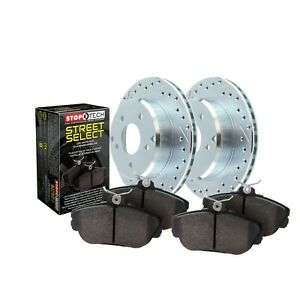 Stoptech Disc Brake Pad And Rotor Kit Front For Cadillac Gmc Chevrolet
