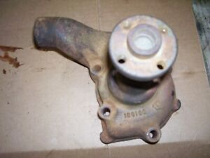 Vintage Oliver 55 Gas Tractor engine Water Pump Assembly